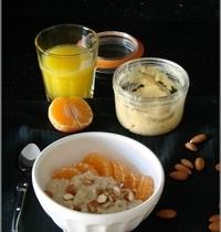 Porridge des Rois, à la Crème d'Amandes