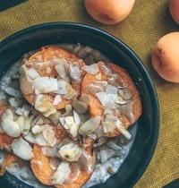 Porridge d'été aux abricots grillés