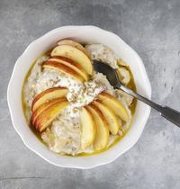 Porridge pomme banane