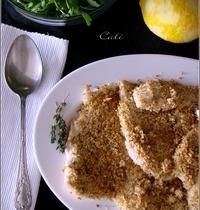 Poulet en Croûte de Parmesan, Thym & Citron
