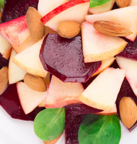 Printemps: Salade pommes betteraves