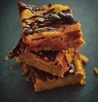 Pumpkin brownie aux épices