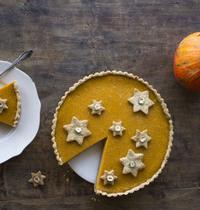 Pumpkin pie (tarte sucrée au potiron)