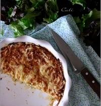 Quiche sans Pâte aux Courgettes & à la Ricotta