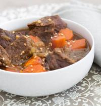 Ragoût de bœuf pimenté