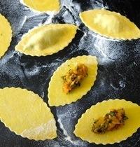 Leftovers ravioli