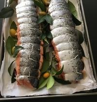 Rôti de saumon aux kumquats