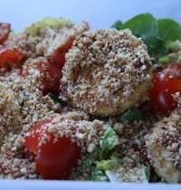 Salade à l'Avocat et au Babybel