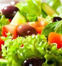 Salade aux molitors
