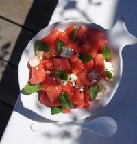Salade d'été pastèque & feta