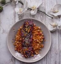 Salade de betteraves à l'orange et lentilles