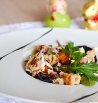 Salade de Chabichou, Vinaigrette Choco-Noisette