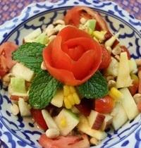 Salade de fruits épicées thaï   Tam Pol La Mai