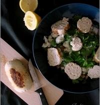 Salade de Quinoa et Chou-Fleur au Persil & Boudin Blanc de Poulet