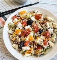 Salade de Riz Sauvage Composée