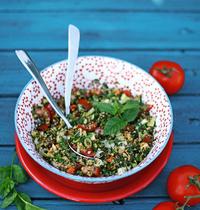 Salade de Semoule Casablanca aux fines herbes