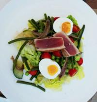Salade de thon snacké
