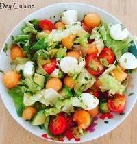 Salade d'été ensoleillé... ☀️