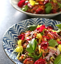 Salade détox aux couleurs d'hiver