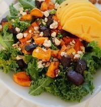Salade hivernale multicolore