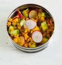 Salade Pondichéry – Concombre et Radis