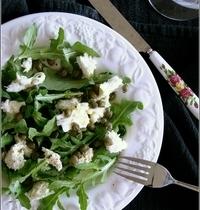 Salade Roquette, Mozzarella & Câpres