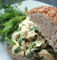 Sandwich Poulet Coriandre