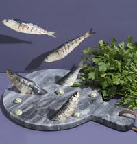 Sardines farcies au beurre de persil
