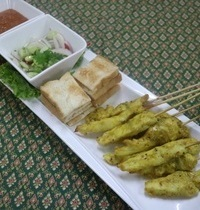 Sauce concombre pour le poulet satay | Ar jade