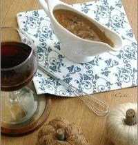 Sauce Crémeuse aux Champignons