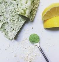 Savon coco, avoine, citron & jus d'herbe de blé
