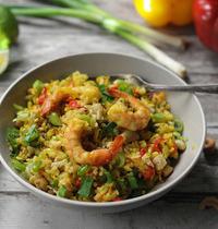 Secret de recette n°7 : LE riz sauté aux crevettes by Frichti !