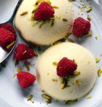Semifreddi à la crème de pistaches de Sicile