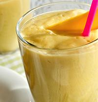 Oat-mango smoothie