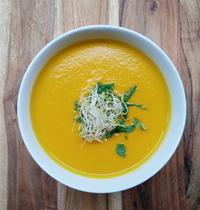 Soupe carotte coco du Café Pinson