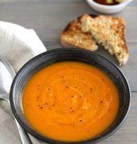 Soupe de butternut aux 4 épices