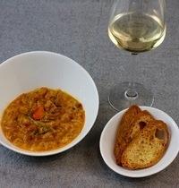 Saffron Mussel Soup