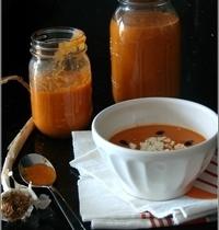 Soupe de Tomates Rôties à l'Ail & au Thym