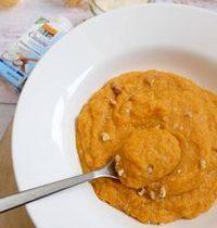 Soupe d'Hiver Epaisse aux Légumes, Patate Douce & Crème de Coco