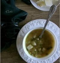 Soupe Poireaux & Pommes de Terre au Parmesan