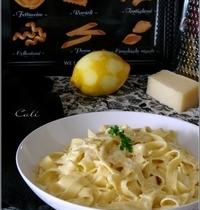 Tagliatelle au Citron & Piave Vecchio