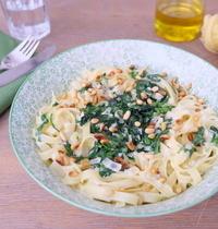 Tagliatelles aux épinards et gorgonzola