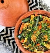 Tajine de poulet aux légumes