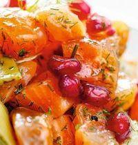 Tartare de saumon façon gravlax