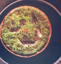 Tarte au chou-fleur et persil