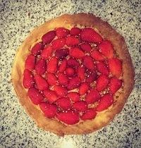 Tarte délice aux fraises