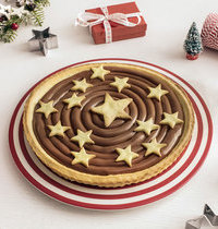 Tarte étoilée au Nutella