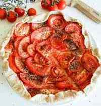 Tarte Fine à la Moutarde, Tomate & Herbes de Provence