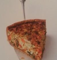 Tarte Poireaux + Patate douce + Graines de courge