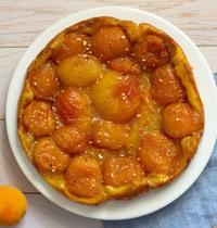 Tarte tatin aux abricots et nectarines